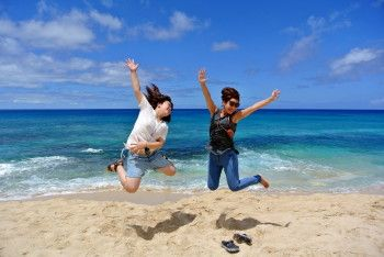 West Oahu Tours - Jumping Photo